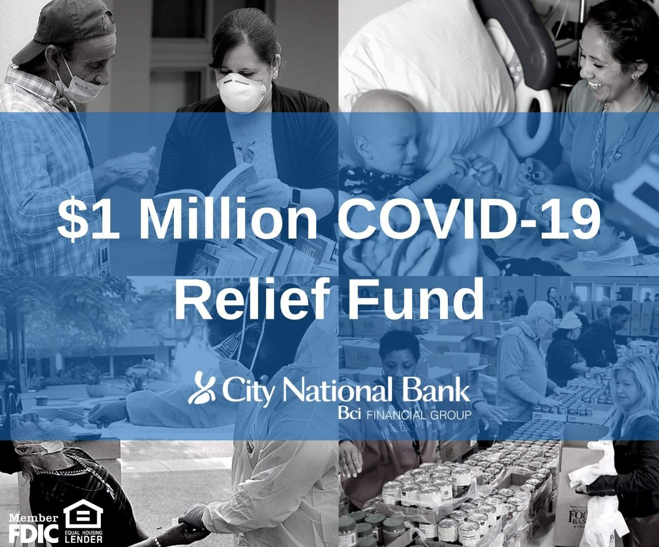 City National Bank Commits $1 Million To Florida Nonprofits Supporting Covid-19 Relief Efforts