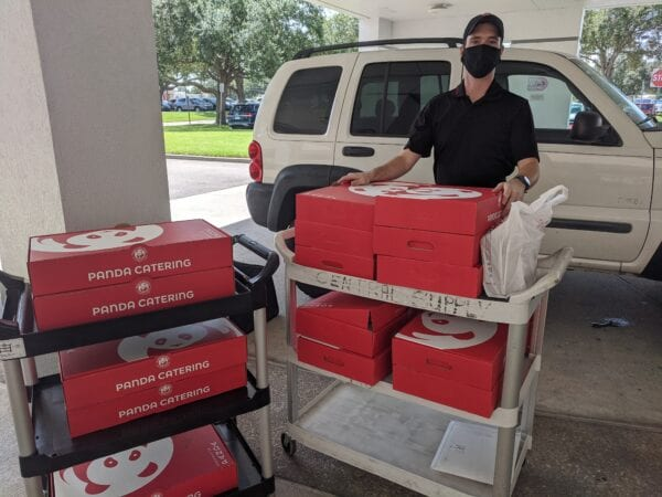 Panda Express Brings Meals, Boosts Morale Throughout Orlando Health