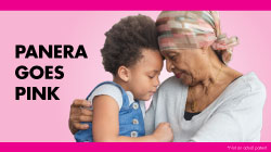 Panera Goes Pink: October 1-31