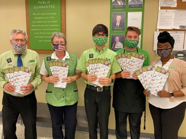 Publix Reaches $5 Million Lifetime Giving In Central Florida